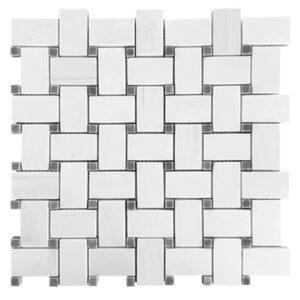 basketweave mosaic dolomiti