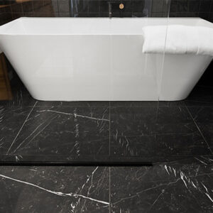 nero marquina honed tile
