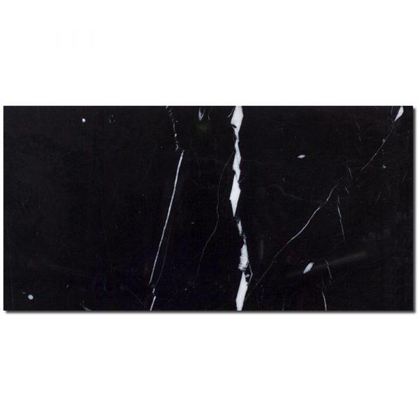 black subway tile nero marquina 3x6