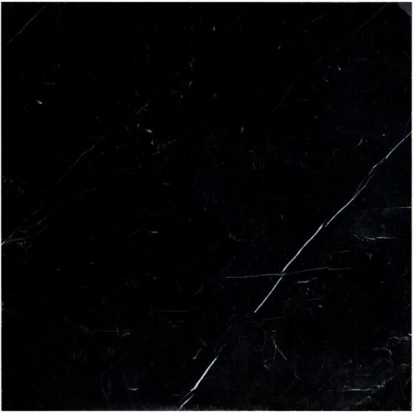 nero marquina 18x18 tile black polished marble